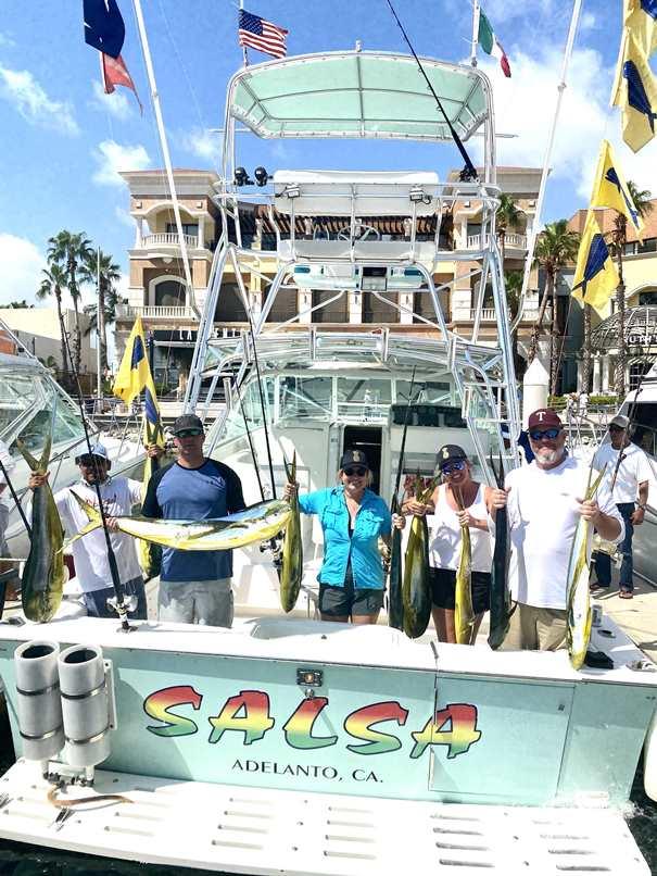Salsa sporrtfishing yacht